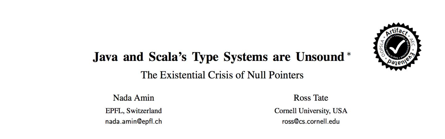Java and Scala's Type Systems are Unsound