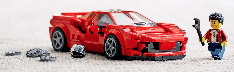 走进LEGO 76895,走近Ferrari F8 Tributo