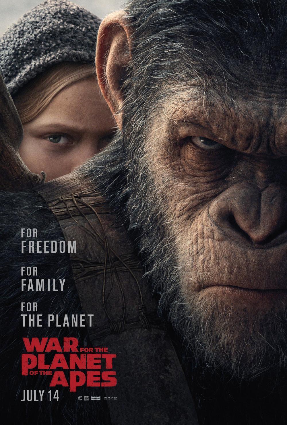 《猩球崛起3》光头将军剃头的隐喻和bug答疑