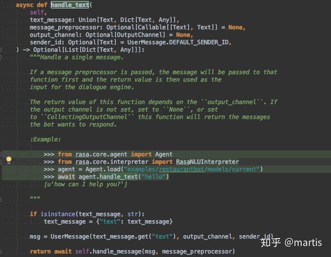 rasa core源码分析第2波-对话管理- 知乎