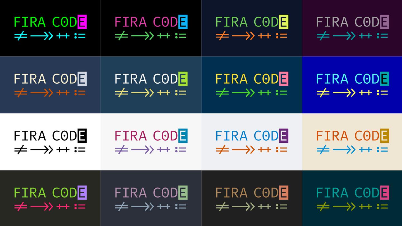 Fira Code | 一个程序员专用字体