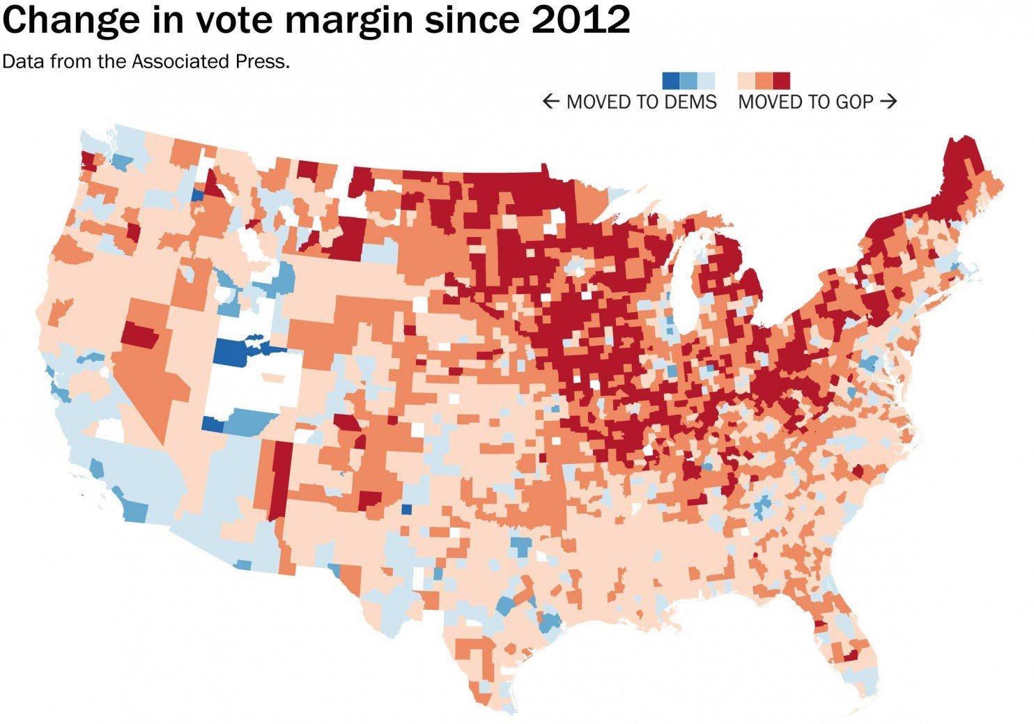 美国大选初步总结:为什么所有预测都错了?