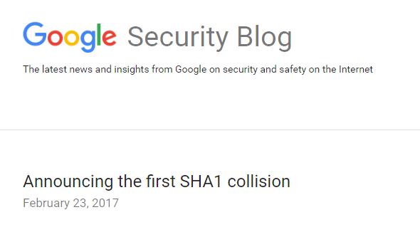 巨量演算实现碰撞!Google攻破最重要的加密技术