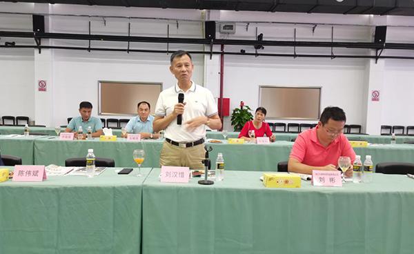 海南省食品安全協會組織會員單位赴南國健康產業園參觀考察