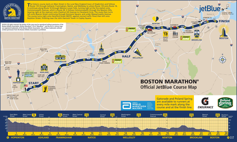 """波士顿马拉松:想凭实力跑波马,你得达到真实的那个""""BQ""""才行"""