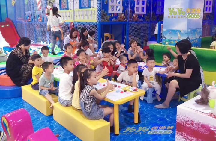 在一线城市开家儿童乐园怎么样?有前景吗? 加盟资讯 游乐设备第1张