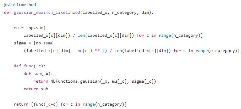 Python · 朴素贝叶斯(零)· 简介